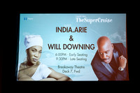 Capital Super Jazz Cruise present Will Downing & India.Arie